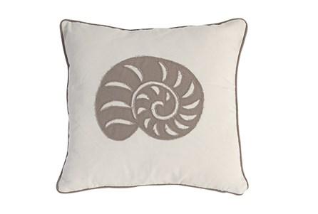 Accent Pillow-Sandy Shell 18X18