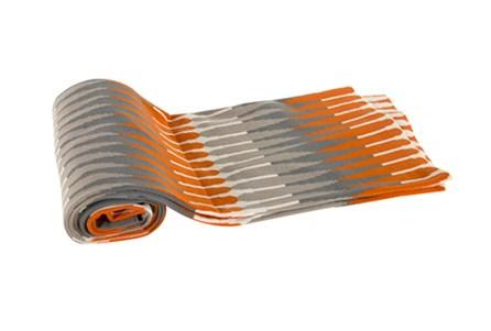 Accent Throw-Mason Orange Knit