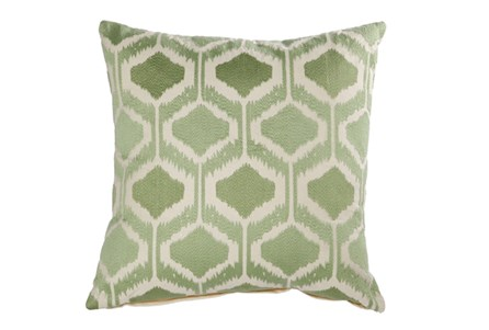 Accent Pillow-Eliza Green 18X18