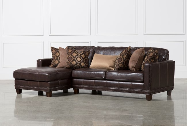 Barnaby 2 Piece Sectional W/Laf Chaise - 360