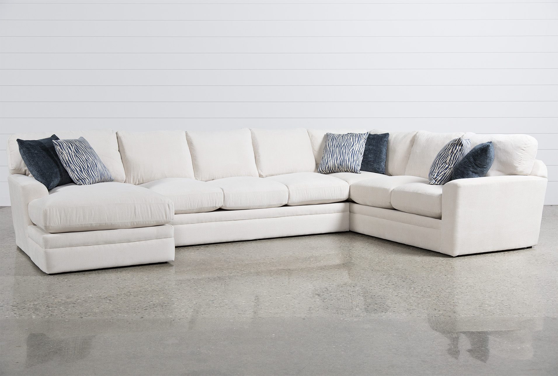Superieur Glamour II 3 Piece Sectional   360