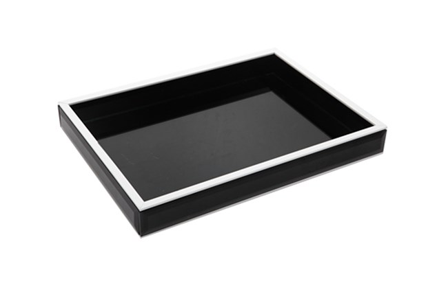 12 Inch Black Tray - 360