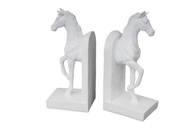 White Horse Bookends - 360