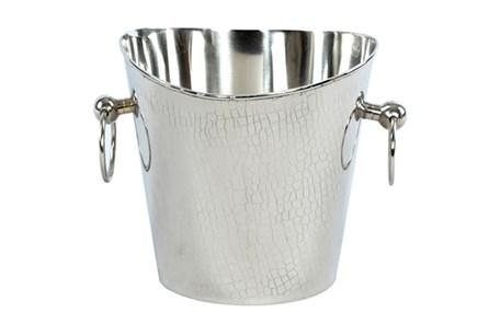 Silver Crock Ice Bucket