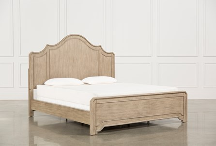 Caira California King Panel Bed