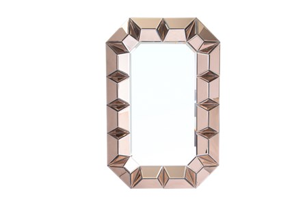 Mirror-Bronze Glass 35X24