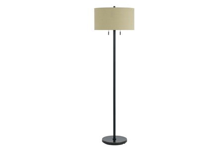 Floor Lamp-Calais Dark Bronze