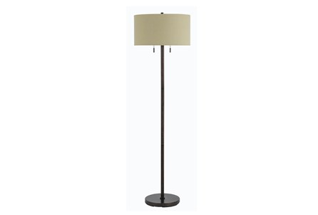 Floor Lamp-Calais Rust