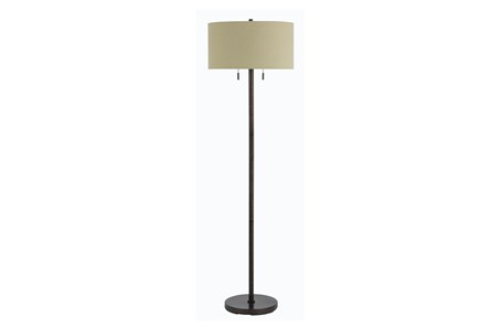 Floor Lamp-Calais Rust - Main