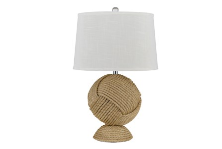 Table Lamp-Rope Ball