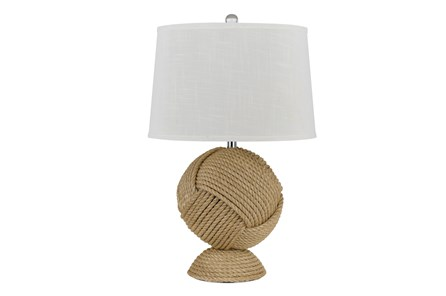Table Lamp-Rope Ball - Main