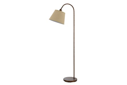 Floor Lamp-Covington Rust
