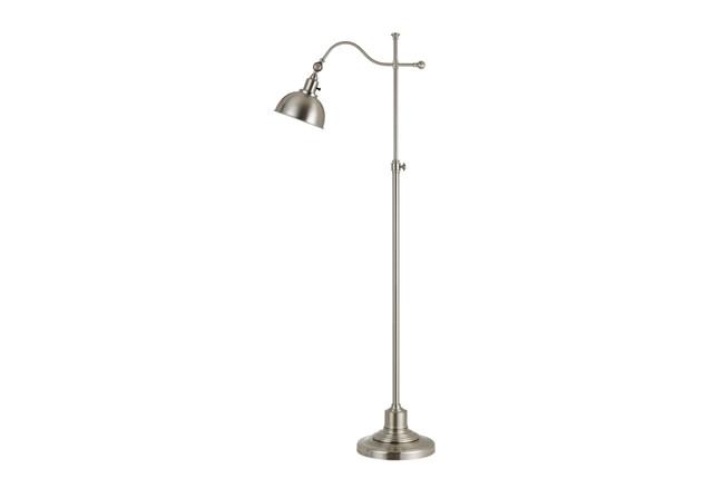 Floor Lamp-Portico Brushed Steel - 360
