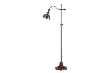 Floor lamp portico rust