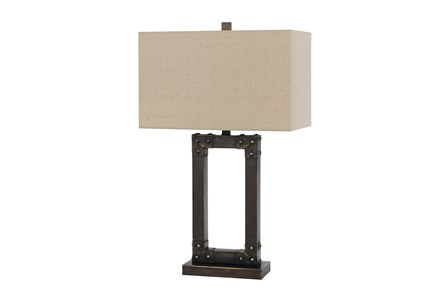 Table Lamp-Ovate Metal - Main