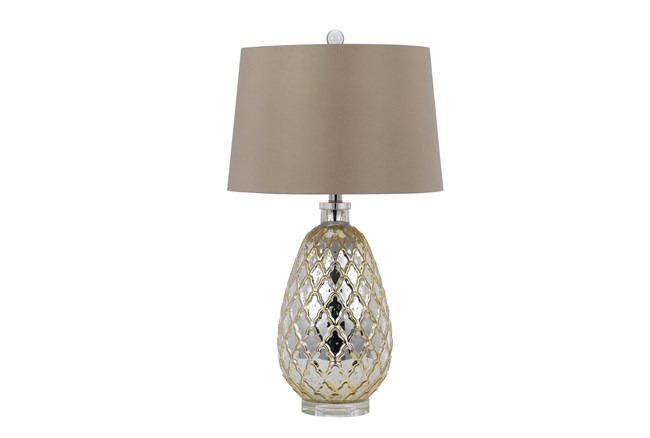 Table Lamp-Antique Gold - 360