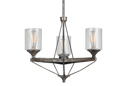 Chandelier-Cresco 3-Light