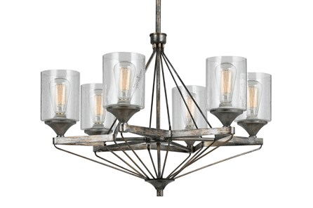Chandelier-Cresco 6-Light