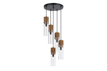 Pendant-Spheroid 5-Light