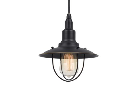 Pendant-Allentown Dark Bronze
