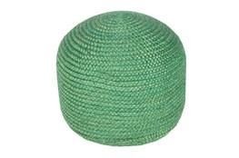 Pouf- Emerald Jute