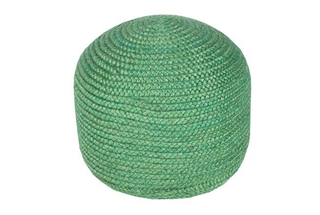 Pouf- Emerald Jute - 360