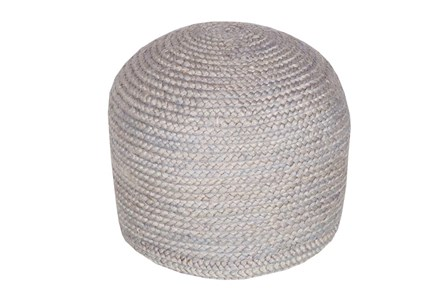 Pouf- Grey Jute - Main