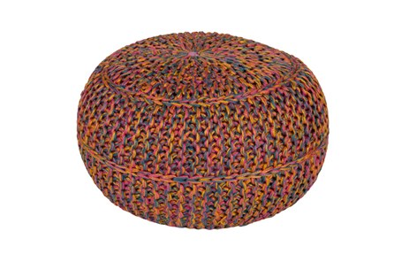 Pouf-Multicolor Gold - Main