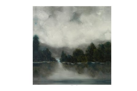 Picture-Foggy Morning 35X35