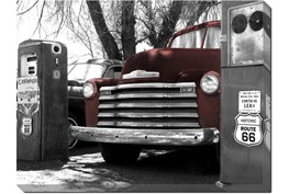 Picture-Red Chevy 43X33