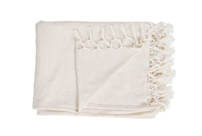 Accent Throw-Hillary Ivory - 360