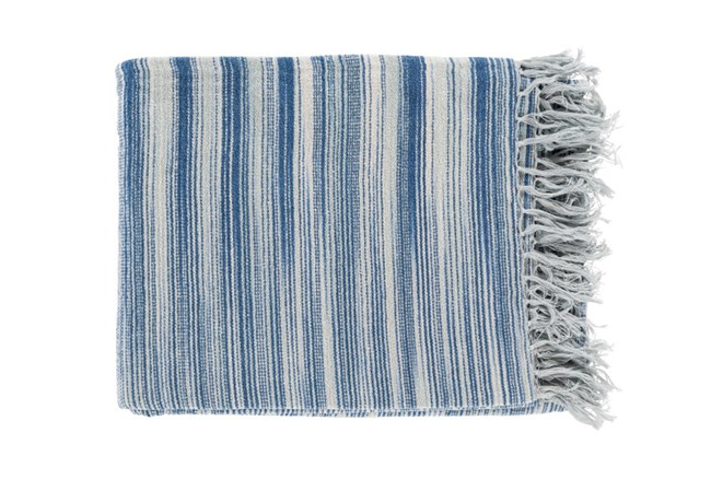 Accent Throw-Sheila Navy - 360