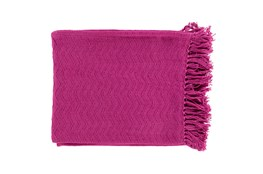 Accent Throw-Torra Magenta