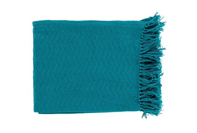 Accent Throw-Torra Teal - 360