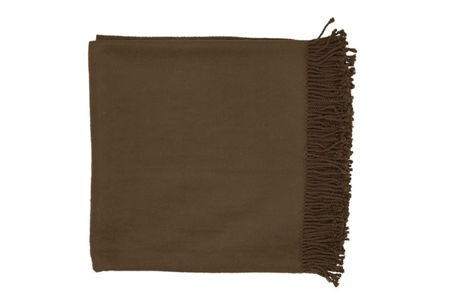Accent Throw-Lindale Chocolate - 360