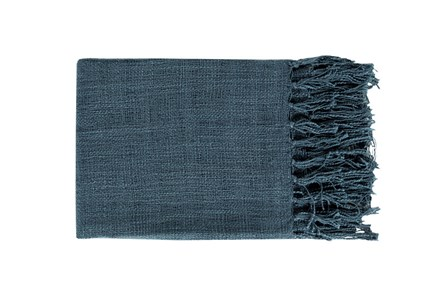 Accent Throw-Delco Navy - Main