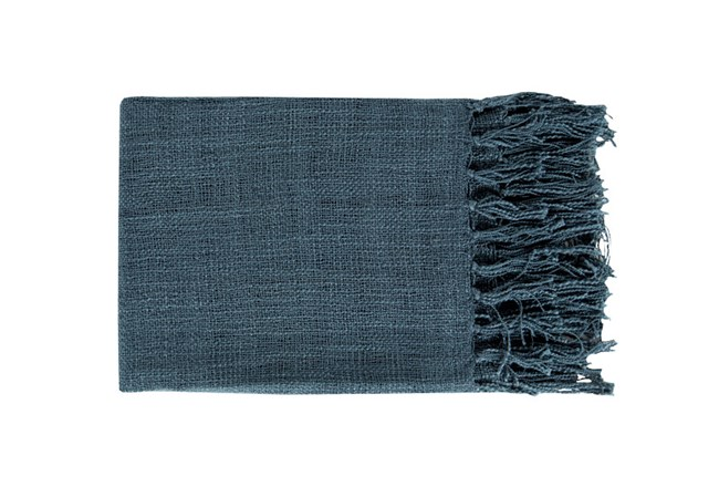 Accent Throw-Delco Navy - 360