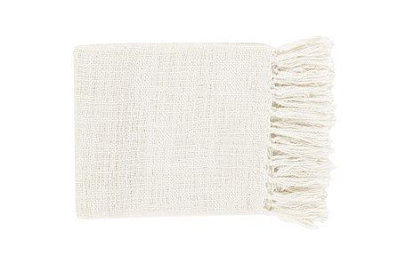 Accent Throw-Delco Ivory