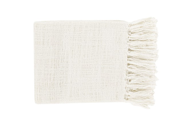 Accent Throw-Delco Ivory - 360