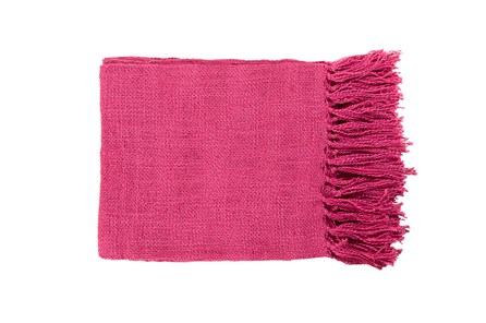 Accent Throw-Delco Fuschia