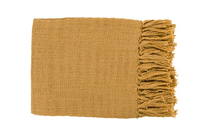 Accent Throw-Delco Mustard - 360