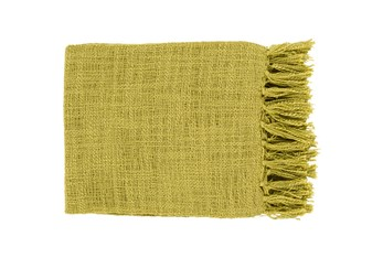 Accent Throw-Delco Lime
