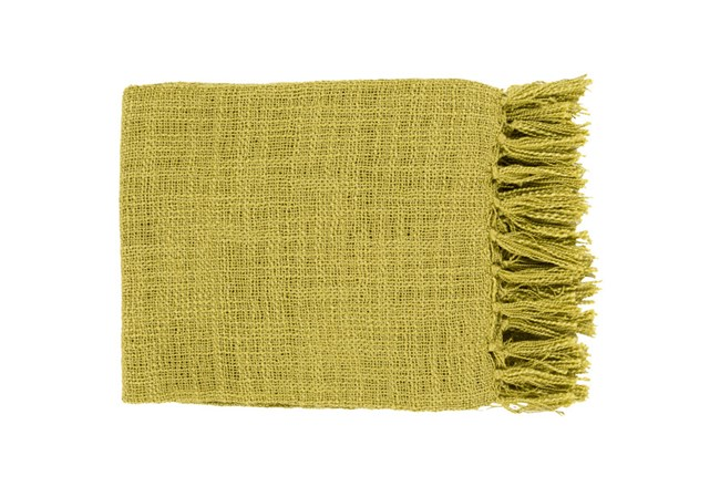 Accent Throw-Delco Lime - 360