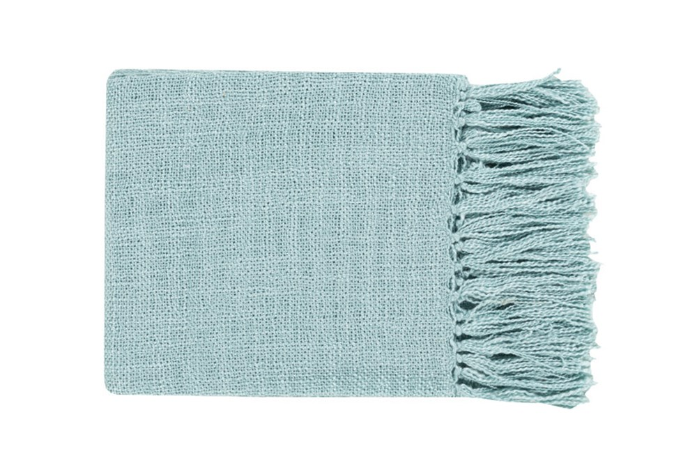 Accent Throw-Delco Aqua