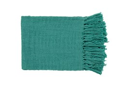 Accent Throw-Delco Teal