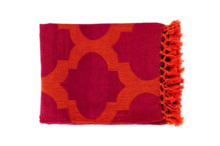 Accent Throw-Carlisle Cherry - Main