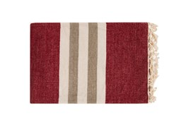 Accent Throw-Dermot Burgundy