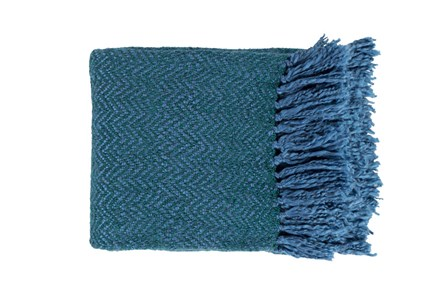 Accent Throw-Fiona Teal - Main