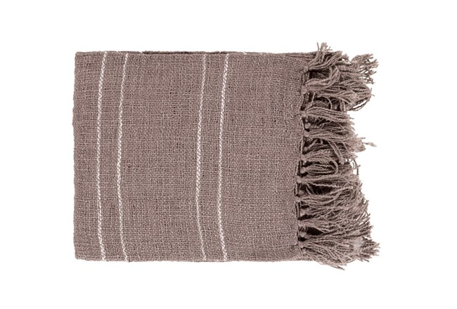 Accent Throw-Drake Pewter - 360