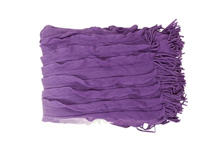 Accent Throw-Gabbi Violet